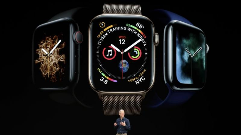 Apple has rapidly gained share in the watch market.  (AP Photo/Marcio Jose Sanchez)
