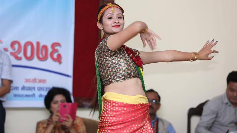 Bandana, a resident of Dhankuta district in eastern Nepal, started dancing at the age of five and would often dance with her younger brother. (Photo: Bandana Nepal)