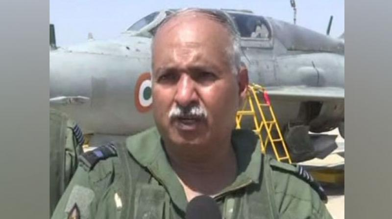 Commanding-in-Chief, Western Air Command, Raghunath Nambiar. (Photo: ANI)
