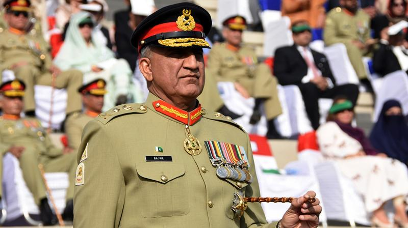 In this photo released by Inter Services Public Relations, the public relations arm of the Pakistani army, newly appointed Pakistani Army Chief Gen. Qamar Javed Bajwa attends the Change of Command ceremony in Rawalpindi, Pakistan. (Photo: AP)
