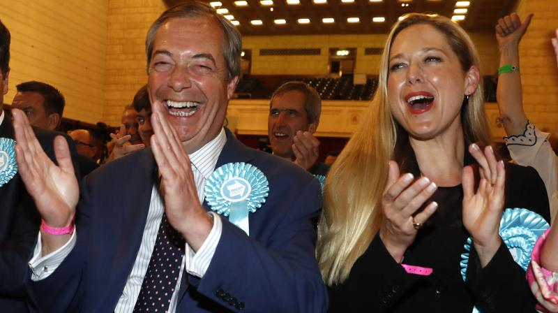 Britain was supposed to have left the EU on March 29 but the entire process has been held up by a parliamentary deadlock. (Photo:AP)