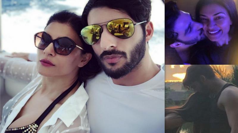 Sushmita Sen & beau Rohman Shawl's cosy pics set out relationship goals