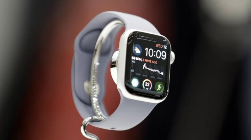 Worldwide, about 48 million smartwatches are expected to be sold this year. (AP Photo)