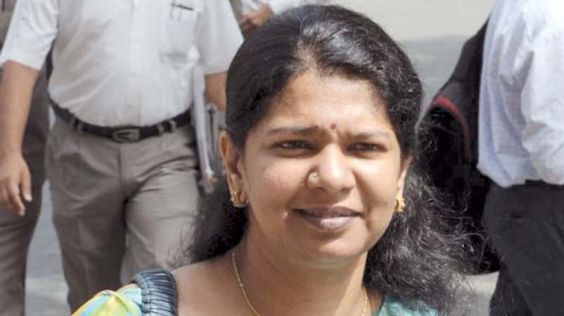 DMK's Rajya Sabha MP Kanimozhi is contesting the polls from Tuticorin Lok Sabha constituency. She has already filed her nomination papers. (Image: File)