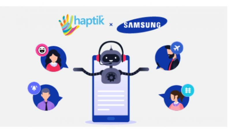 Haptik's Concierge services have a 50% repeat rate across all partners, and the most popular categories are Reminders, Quizzes and Flight Booking.
