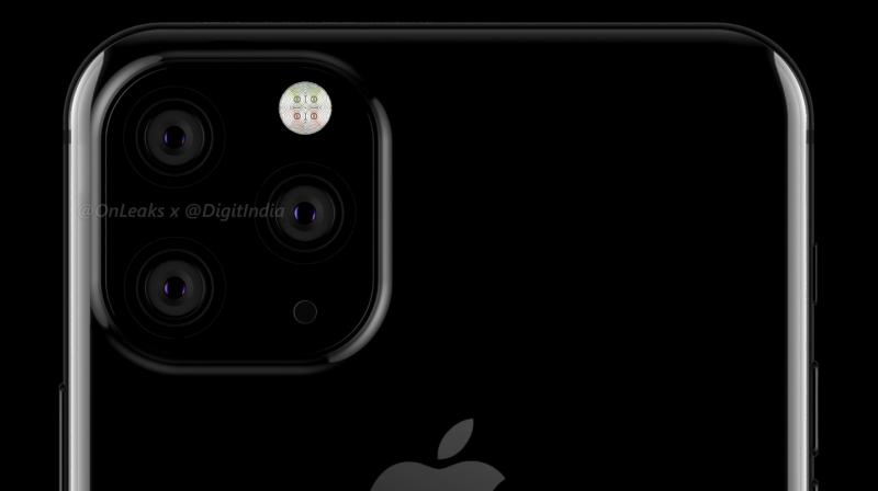 "Apple will make use of a special ""black-lens coating technologies"" that will make the camera lenses on the front and rear look 'inconspicuous.' (Photo: @OnLeaks/Digit)"