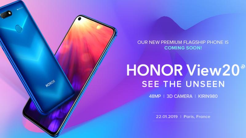 Honr View20 is the world's first smartphone with 48MP rear camera with Sony IMX586 sensor.
