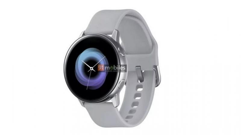 It is expected that the Galaxy Sport smartwatch will run an updated version of the Tizen OS. (Photo: 91Mobiles)