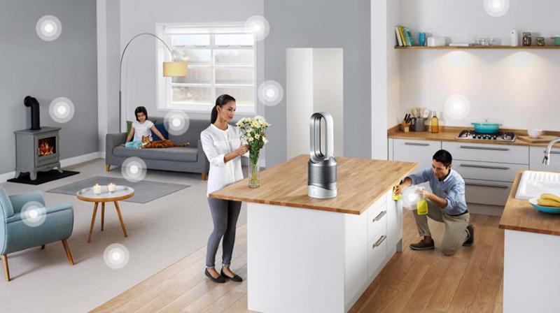 The UK-based Dyson claims its line of air purifies literally go through military-grade testing and development.