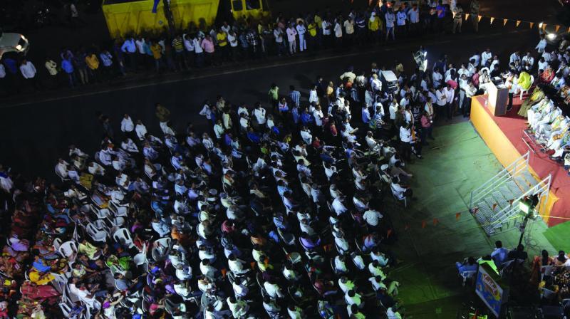 Campaigning scene in Nagpur