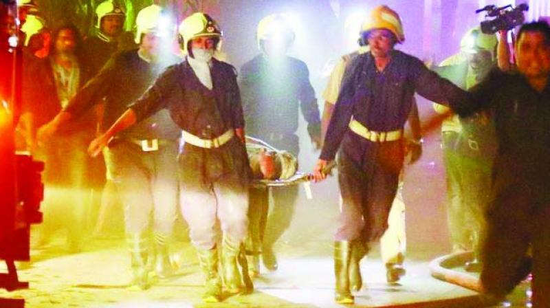 Fourteen people died in the Kamala Mills fire on Dec. 29.