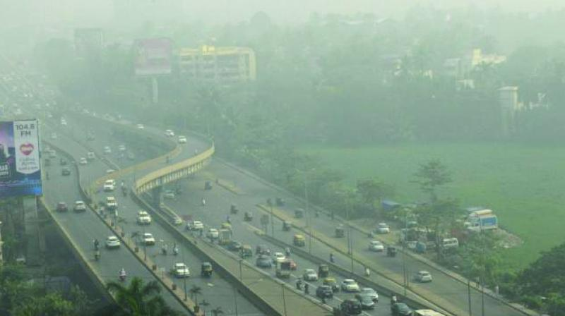 Smog in Navi Mumbai