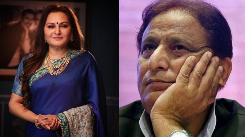 Jaya Prada and Azam Khan