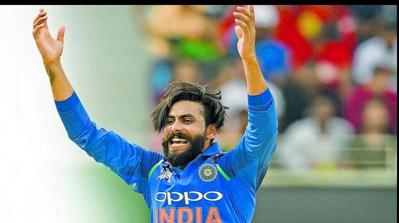 Azhar suggested that Jadeja, who is yet to feature at the World Cup, would be a useful addition with his left-arm spin and powerful batting. (Photo: AFP)