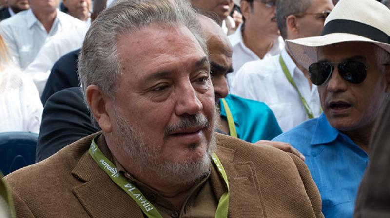 Castro Diaz-Balart had been working as a scientific counsellor to the Cuban Council of State and Vice-president of the Cuban Academy of Sciences at the time of his death. (Photo: AFP)