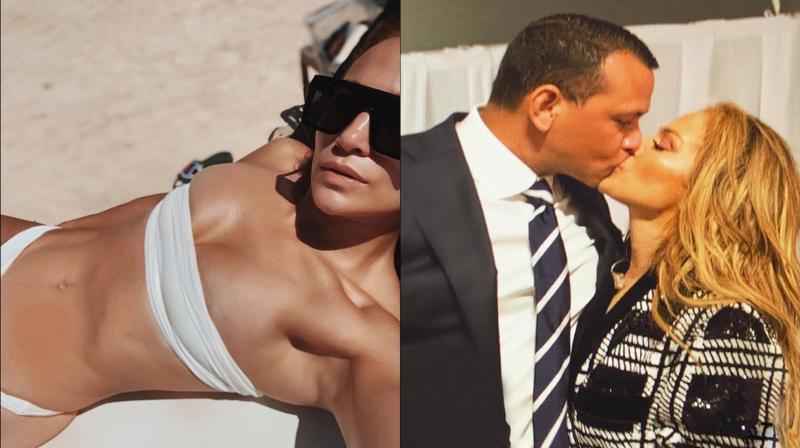 Alex Rodriguez and Jennifer Lopez. (Photo: Instagram)