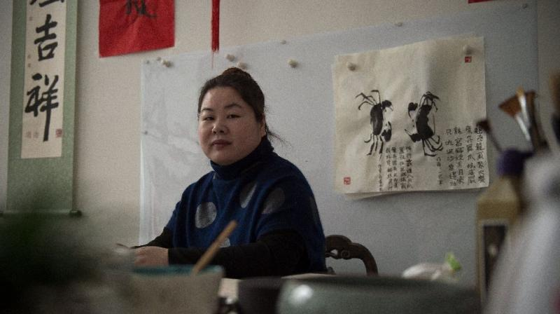 After a documentary on Ye Haiyan's work made the Oscar's short list, local authorities in China killed activist her gas, water, electricity and Internet (Photo:AFP)