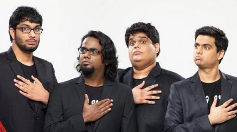 The comedy group announced on Monday that two of its founding members Tanmay Bhat and Gursimran Khamba were stepping away from the organisation. (Screengrab | Twitter | AIB)