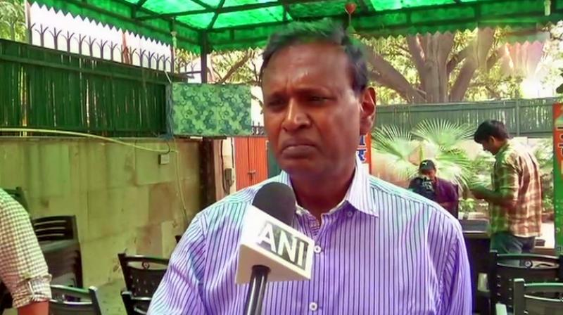 BJP MP from north-west Delhi constituency claimed that the #MeToo movement has created a feeling of terror in India as men now avoid meeting women alone. (Photo: Twitter | ANi)