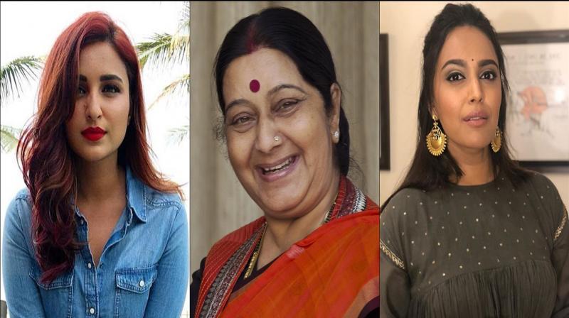 Bollywood mourns Sushma Swaraj's demise. (Photo: Instagram)