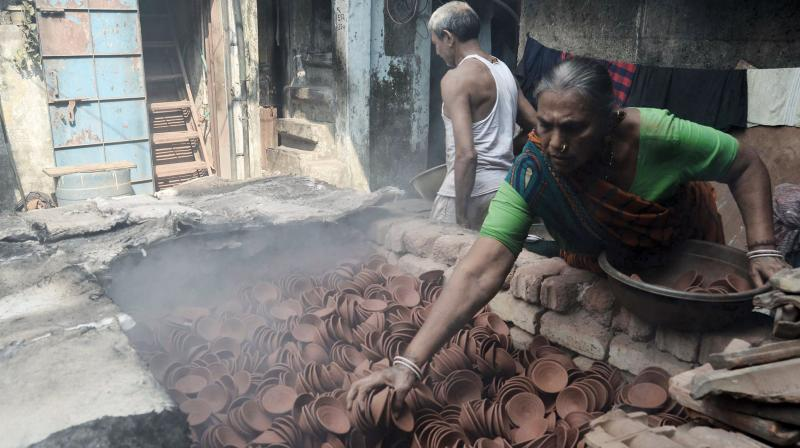 The incentive of these tours is to attract more Indian tourists, because plenty of foreigners know about Dharavi and come to study the area. (Photo: Shripad Naik)
