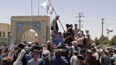 Taliban seize province near capital, attack northern city