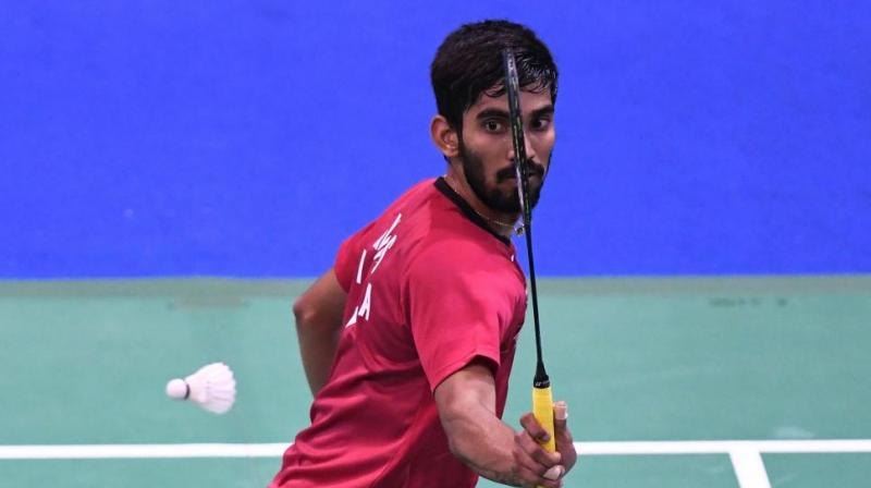 Kidambi Srikanth faced a 14-21, 19-21 defeat at the hands of Japan's Kanta Tsuneyama in the second round of Korea Masters. (Photo: AFP/File)