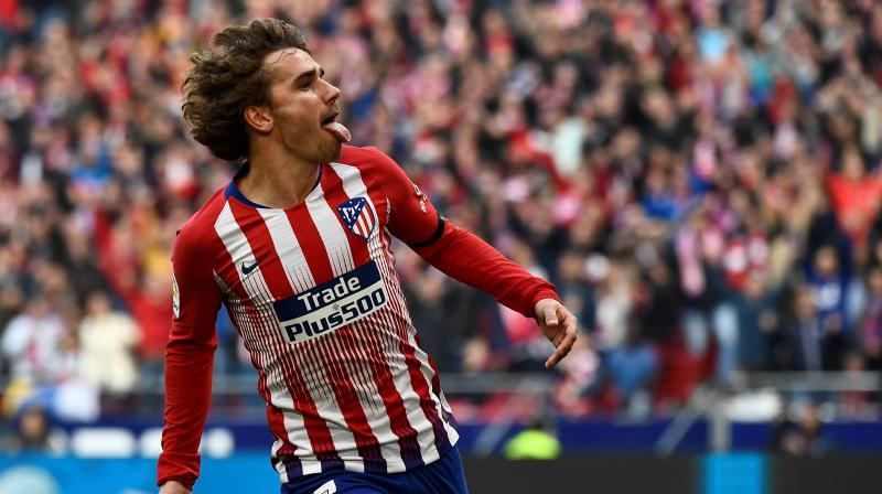 World Cup winner Griezmann, who signed a new five-year contract last June, said he had told Atletico coach Diego Simeone and chief executive Miguel Angel Gil Marin of his decision and addressed the supporters in the video message. (Photo: AFP)