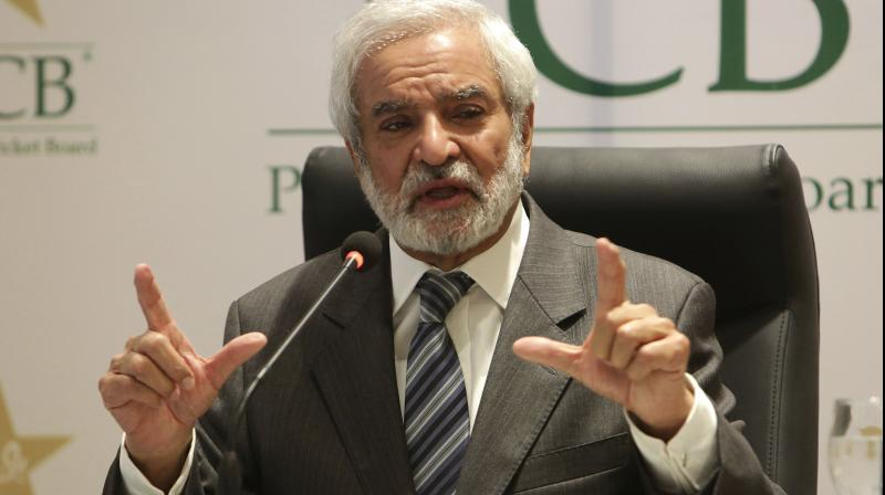 Pakistan Cricket Board Chairman Ehsan Mani has called India a