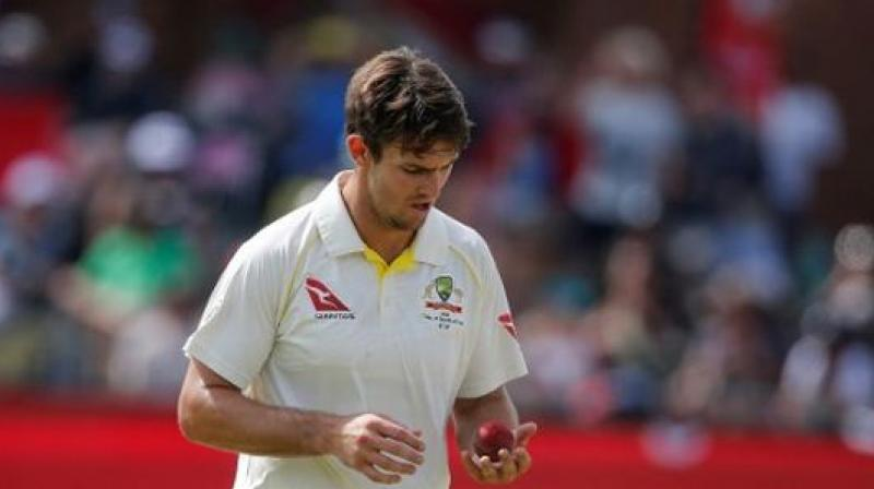 After taking four wickets on day one of the fifth and final Ashes Test, Australian pacer Mitchell Marsh revealed that many people back home hate him for not cementing a place in the side after being given so many chances by the team management. (Photo:AFP)