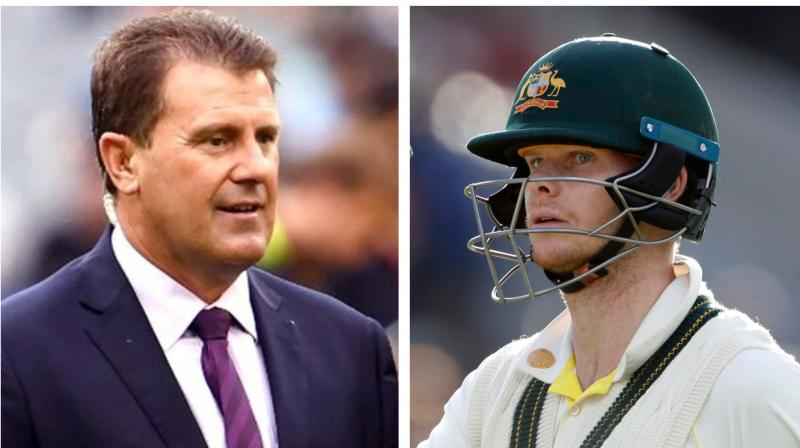 Former skipper Mark Taylor on Thursday backed Steve Smith to captain Australia again after his incredible Ashes exploits, as support mounts for the 30-year-old to be given a second chance. (Photo:AFP)