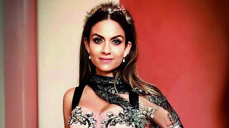 Image shared by Natasha Poonawalla in a D&G outfit