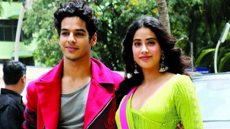 Janhvi Kapoor and Ishaan Khatter
