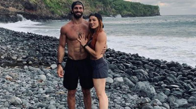 Seth Rollins and Becky Lynch are spending some quality time on vacation. (Photo: Instagram / Becky Lynch)