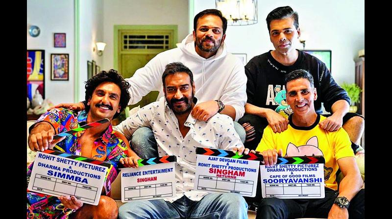 Ranveer Singh and Ajay Devgn are reuniting with Rohit Shetty for Sooryavanshi