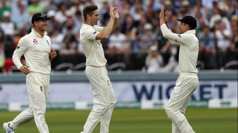 The series is level 1-1 with two tests remaining (Photo: AFP)