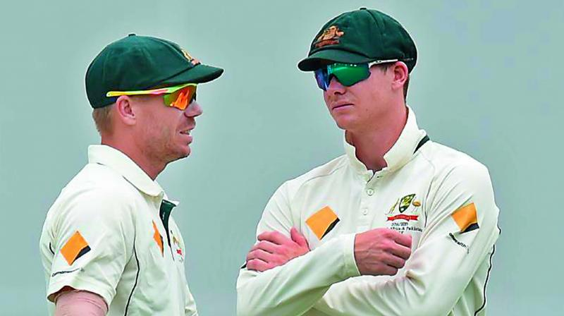 The reintegration of Warner and co-conspirator Steve Smith has already begun with the pair meeting the one-day team after their bans expired late last month. (Photo: File)