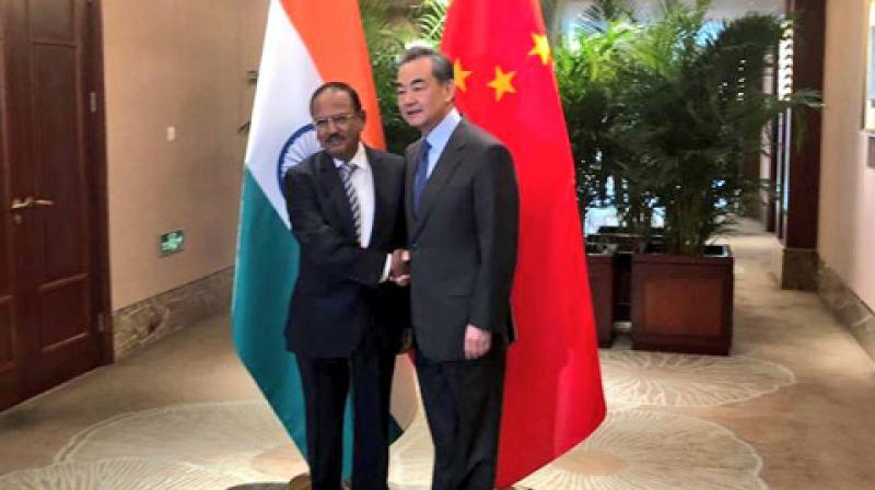 The Indian delegation will be lead by National Security Advisor (NSA) Ajit Doval, while the Chinese side will be led by State Counsellor and Foreign Minister Wang Yi, the MEA had said in a statement on Friday. (Photo: ANI)