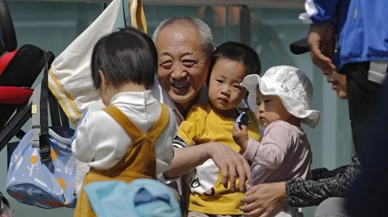 In May this year, the ruling Communist Party of China approved a relaxation of its strict two-child policy to allow all couples to have up to three children. (Representational image: AP)