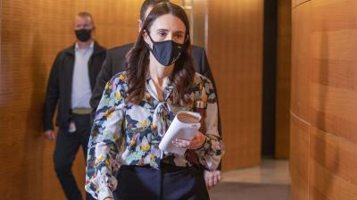New Zealand PM Ardern extends lockdown in Auckland to Sept 21