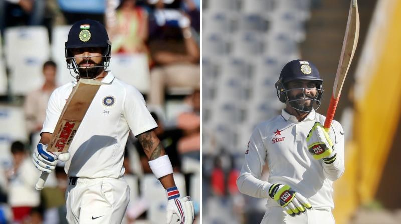 Virat Kohli moved up to a career-best third spot in the latest ICC Rankings for Test batsman. (Photo: PTI)