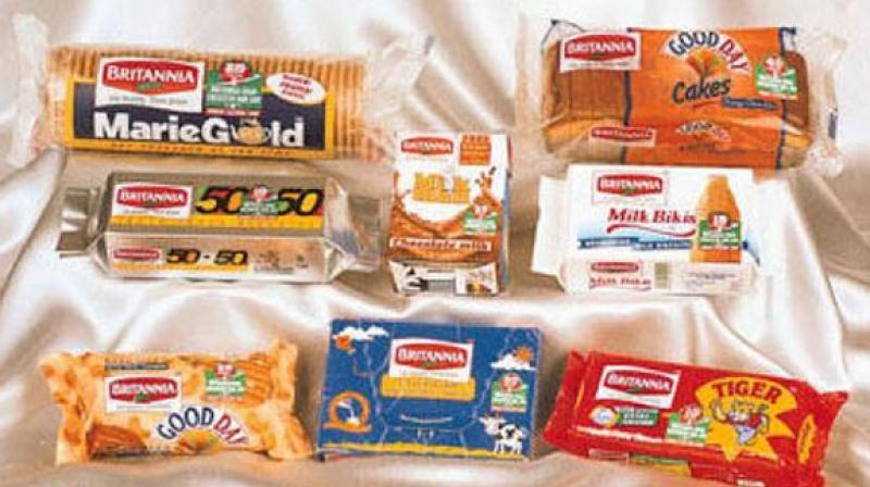 The company had posted a net profit of Rs 303.03 crore for the July-September period a year ago, Britannia Industries said in a BSE filing.