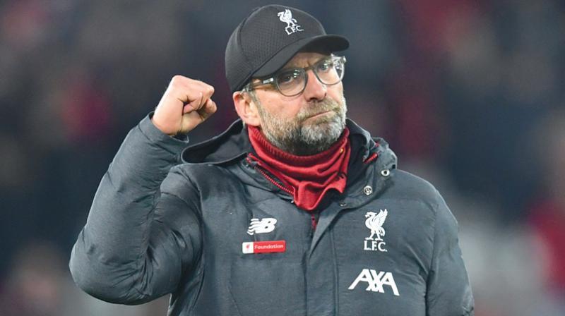 Liverpool's German manager Jurgen Klopp. AFP Photo