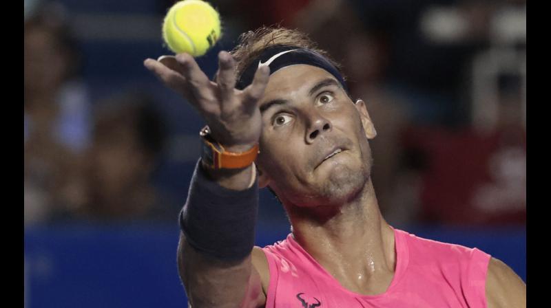 Spain's Rafael Nadal. AP Photo