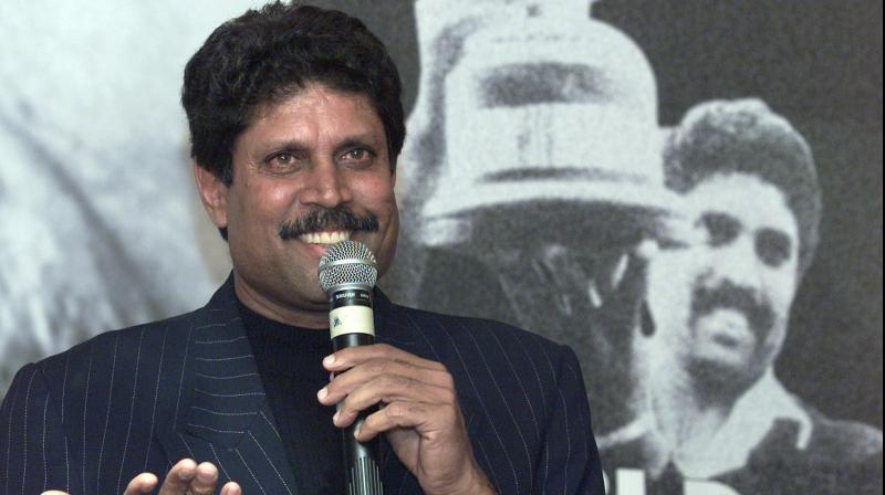 Kapil Dev remembering the Prudential World Cup win. AA File Photo