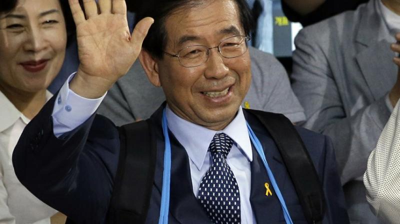 Seoul Mayor Park Won-soon. (AP)