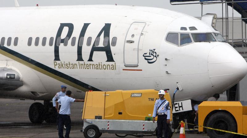 A Pakistan International Airlines passenger jet. (AP)