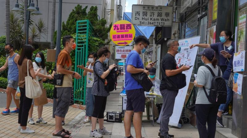 Half million Hong Kong people vote in pro-democracy primaries