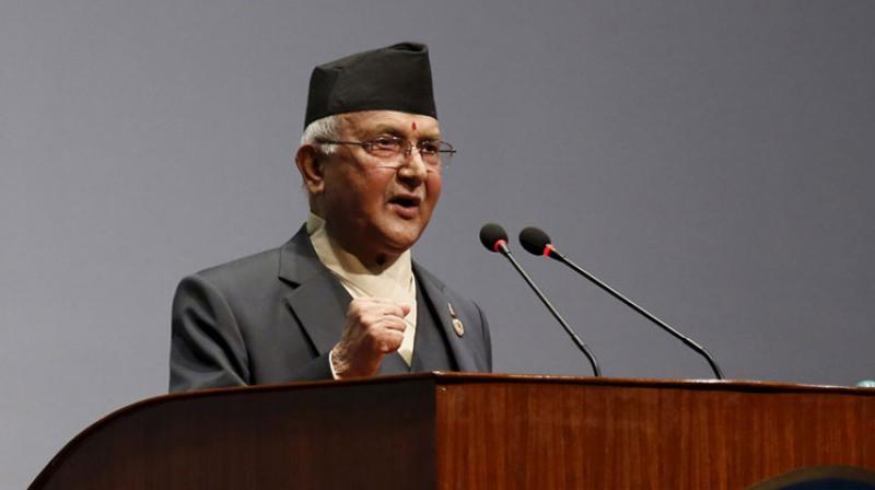 Nepal Prime Minister K P Sharma Oli. (PTI)
