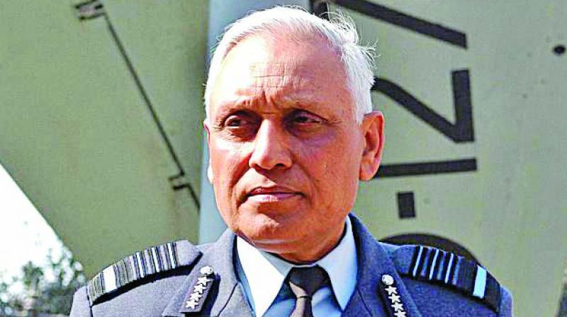 Former Indian Air Force chief S.P. Tyagi